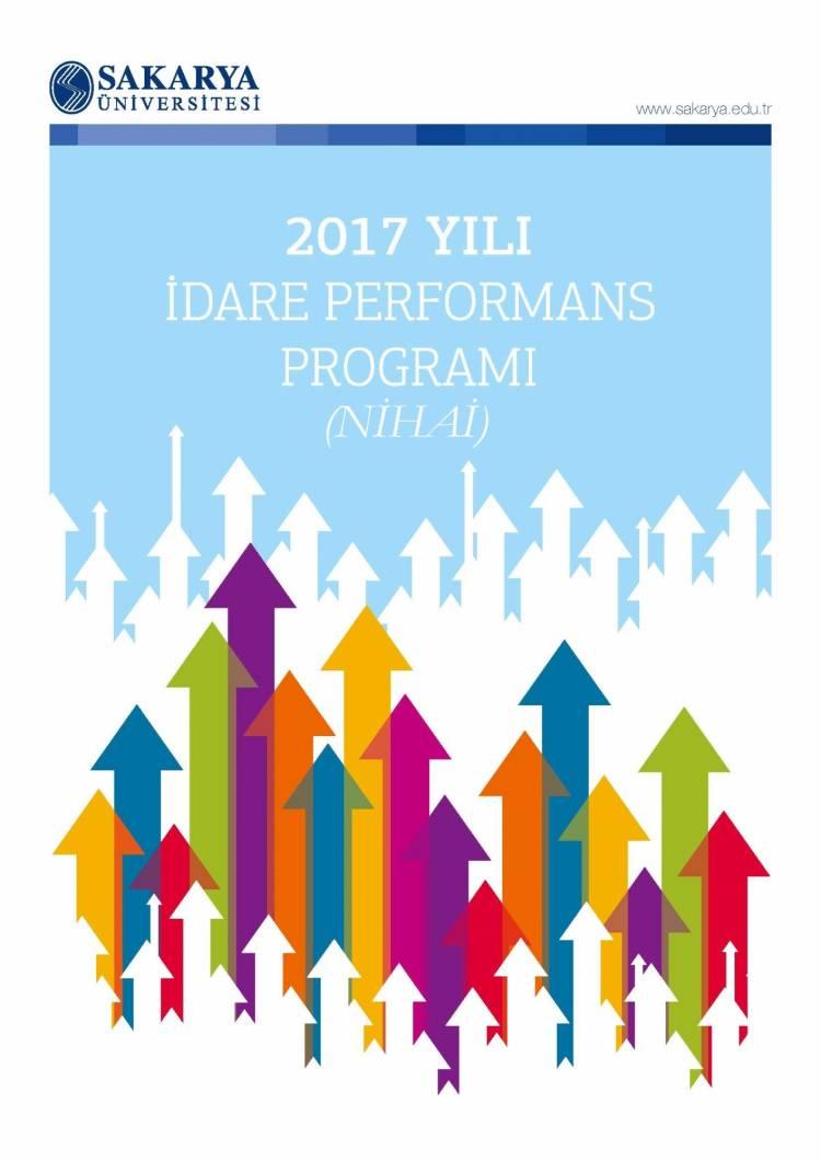 2017 Yılı Nihai Performans Programı