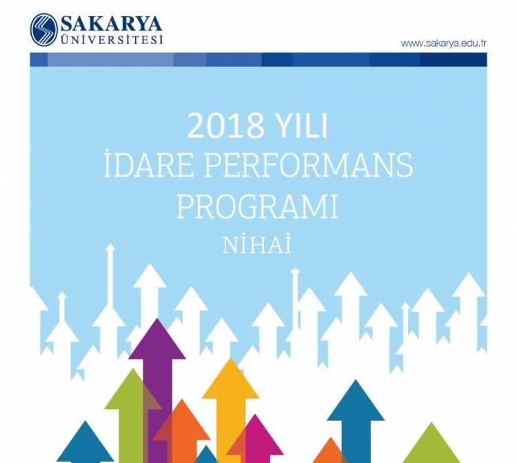 2018 YILI NİHAİ İDARİ PERFORMANS PROGRAMI